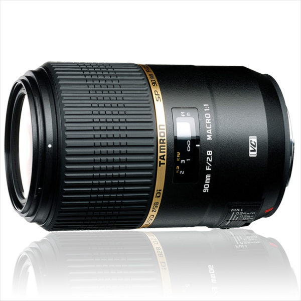 Tamron 90mm f/2.8 1:1 Di VC USD SP